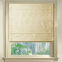 Roman Shades Front & Back Pleated Shade