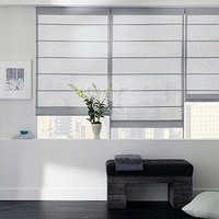 Roman Shades Front Pleated Shade